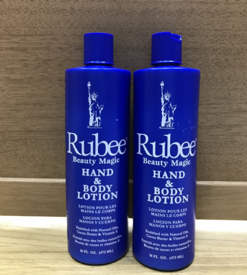 RUBEE BEAUTY MAGIC HAND AND BODY LOTION - 473ml X 2
